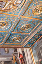 Ceiling of Gallerie dell`Accademia in Venice Royalty Free Stock Photo