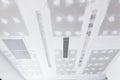 Ceiling gypsum board Royalty Free Stock Photo