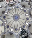 Ceiling at Little Hagia Sophia (Istanbul) Stock Image