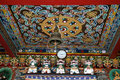 Ceiling of Monastery Royalty Free Stock Photo