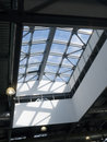 Ceiling of office building Royalty Free Stock Photo