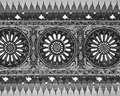 Ceiling of palace agra india march pattern on taj mahal on march in agra india taj mahal is widely recognized as the jewel muslim Stock Image