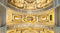 Ceiling of the Palace of the Doges Royalty Free Stock Photo