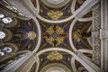 Ceiling of the peace palace Royalty Free Stock Photo