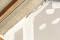 Ceiling repair for home renovate photo of Stock Photography