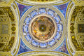 Ceiling in the St. Isaac's Cathedral, St Petersburg. Royalty Free Stock Photo