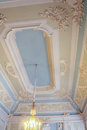 The ceiling in the toilet of Maria Feodorovna.