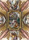 Ceiling in Vatican Museum Royalty Free Stock Photo