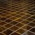 Celadon ceramic tile floor Royalty Free Stock Photo