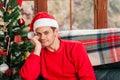 Celebrating Christmas. Royalty Free Stock Photo