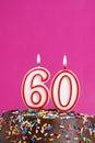 Celebrating Sixty Years Royalty Free Stock Photo