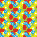 Celebration background seamless repeat pattern Royalty Free Stock Photo