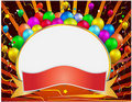 Celebration banner Royalty Free Stock Photo