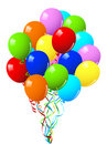 Celebration or birthday Party balloons Stock Image