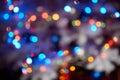 Celebration blurred background horizontal photo Stock Image