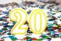 Oslava svíčka číslo 20