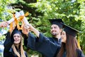 Celebration Education Graduation Student Success Learning Concep Royalty Free Stock Photo