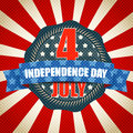 The celebration of The Independence Day Royalty Free Stock Photo