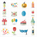 Celebration party icons this image is a vector illustration Royalty Free Stock Images