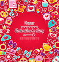 Celebration Postcard for Valentine's Day