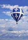 In celebration of Quebec Saint-Jean-Baptiste Day Royalty Free Stock Photo