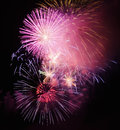 Celebratory fireworks Royalty Free Stock Image