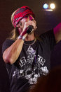 Celebrity Bret Michaels Life Rocks Super Concert Royalty Free Stock Photos