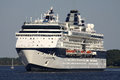 CELEBRITY CONSTELLATION on the North Sea Channel
