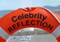 Celebrity Reflection life bouy Royalty Free Stock Photography