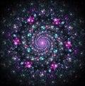 Celestial whirlpool of galaxies