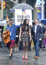 Celina Jaitly in Toronto's 35th annual Pride parade Royalty Free Stock Photo