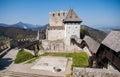 Celje castle, Slovenia Royalty Free Stock Photo