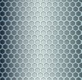 Cell metal background vector illustration Stock Image