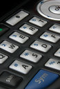 Cell phone keypad Stock Photography