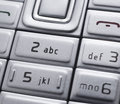Cell phone keypad Royalty Free Stock Photo