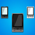 Cell phone smart mobile collection vector illustration Stock Photo