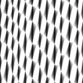 Cell tissue, netting, abstract black and white fencing seamless background Royalty Free Stock Photo