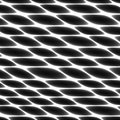 Cell tissue, netting, honeycomb, abstract black and white fencing background Royalty Free Stock Photo