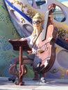 Cellist Of Las Fallas