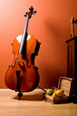 Cello Royalty Free Stock Photo
