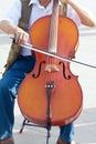 Cello Royalty Free Stock Photo