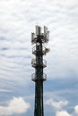 Cellphone Tower Portrait Format Royalty Free Stock Photo