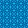 Cells and strips mesh seamless background in blue Royalty Free Stock Photography