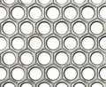 Celluar metal texture Royalty Free Stock Images