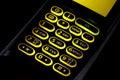 Cellular keypad Royalty Free Stock Photo