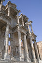 Celsus library in ephesus ancient town of turkey Royalty Free Stock Photos