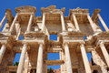 Celsus Library in Ephesus, Turkey Stock Photos
