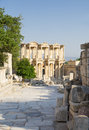 Celsus library in ephesus turkey Stock Photos