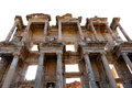 Celsus library in ephesus in turkey Royalty Free Stock Photography
