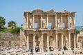 Celsus library in ephesus turkey izmir Stock Photography